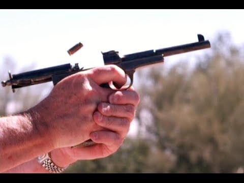 Schwarzlose 1898 Semiauto Pistol