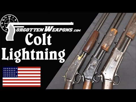 Colt Lightning: A Pump-Action Rifle to Challenge Winchester