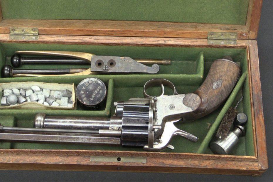 Pinfire LeMat Grapeshot Revolver