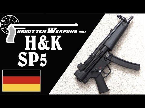 H&K's New SP5 – A Civilian Semiauto MP5 Pistol