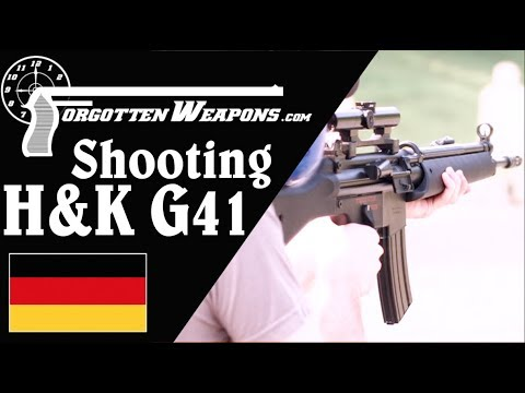 Shooting the HK G41: Like an HK33 But Worse