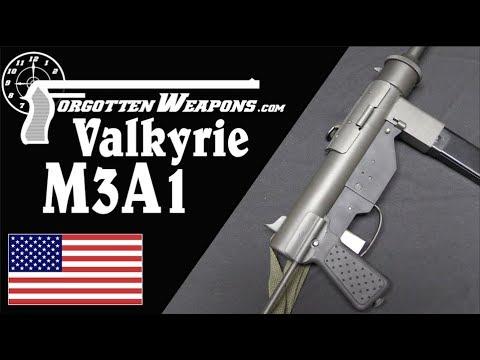 Valkyrie Arms Semiauto M3A1 Grease Gun