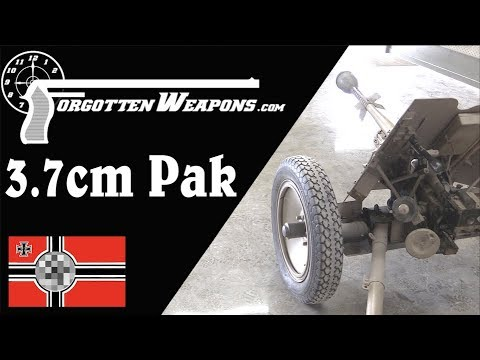 3.7cm PAK – Germany's Basic WWII Antitank Gun