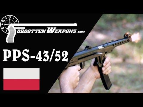 Sheet Metal and Wood: The Polish Sudayev PPS 43/52