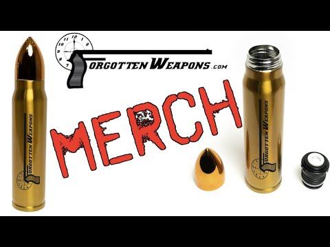 Forgotten Weapons Gifts – Cartridge Thermos! (and free shipping)
