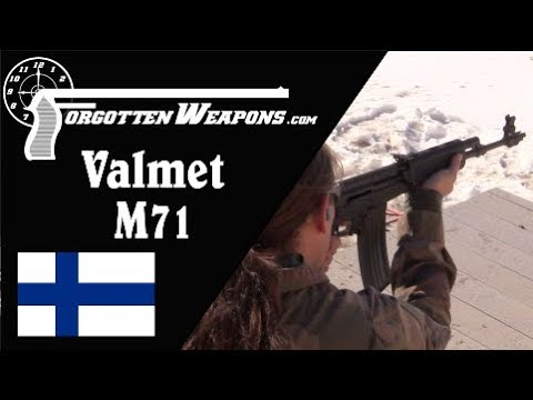 Valmet M71 – How Does it Shoot in Full Auto?