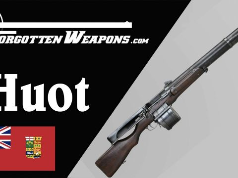 Huot Automatic Rifle: The Ross Goes Full Auto