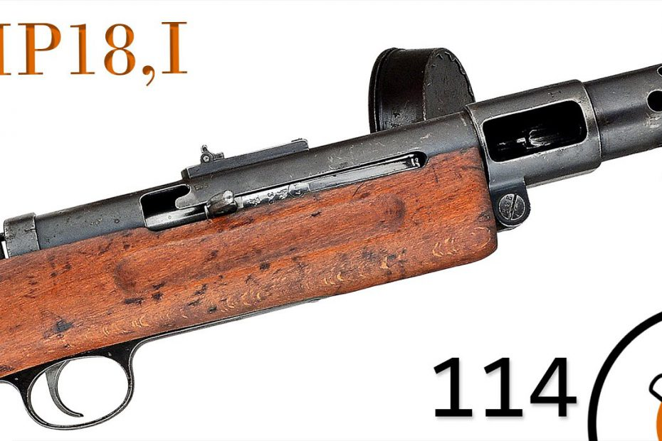 Small Arms of WWI Primer 114: German Maschinen Pistole 18,I