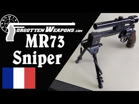 GIGN's MR73 Sniper Revolver in .357 Magnum