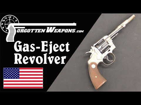 Colt Prototype Self-Ejecting Revolver