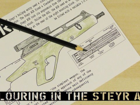 Colouring In the Steyr ACR
