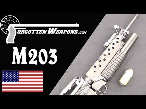 M203 Underbarrel Grenade Launcher