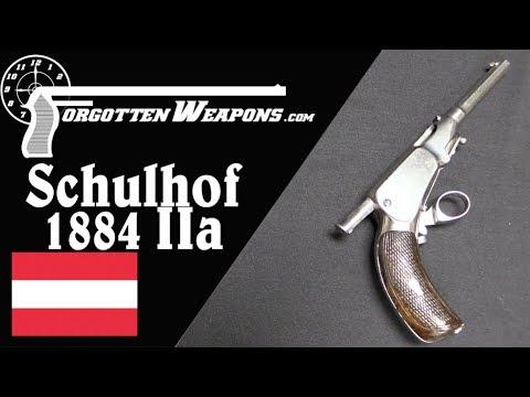 The Schulhof 1884, Type IIa Manual Repeating Pistol