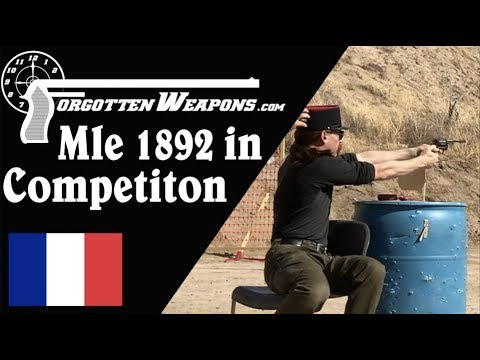 French Mle 1892 Revolver in Competition