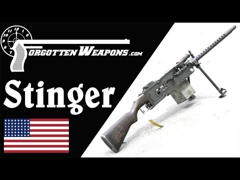 USMC Stinger Machine Gun: Medal of Honor on Iwo Jima
