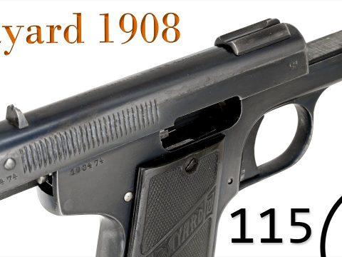 Small Arms of WWI Primer 115: Belgian Bayard Model 1908