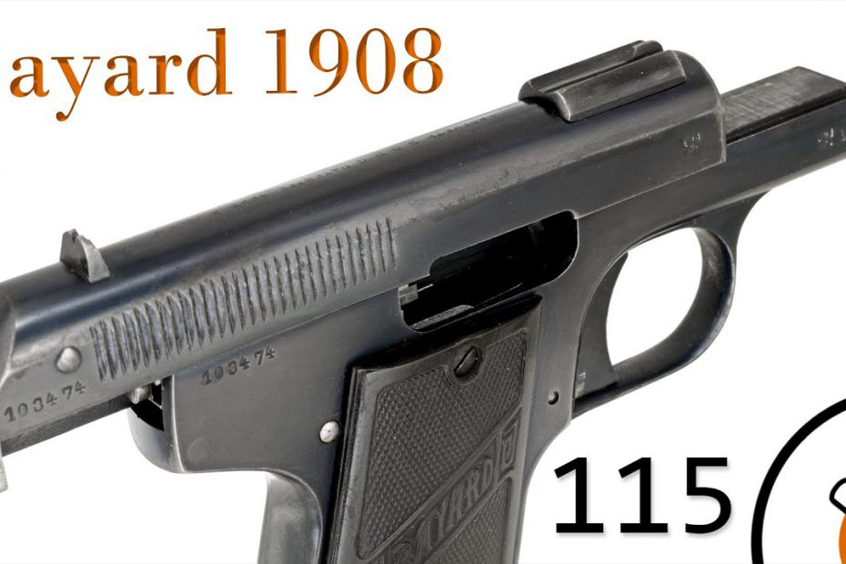 Small Arms of WWI Primer 115: Belgian Bayard Model 1908