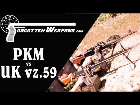 GPMG Firing Comparison: PKM vs UK vz.59