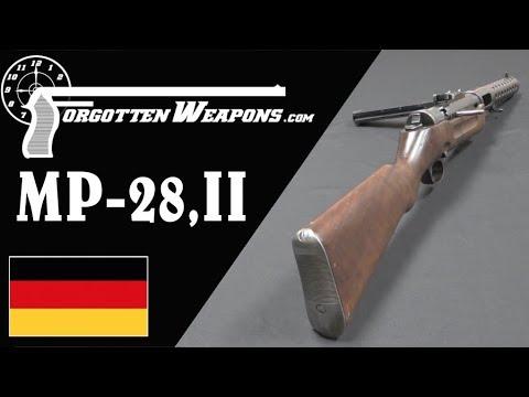 MP-28: Hugo Schmeisser Improves the MP18