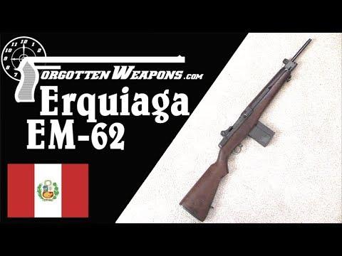 Erquiaga EM-62: Castro's Ex-Armorer Makes an M14