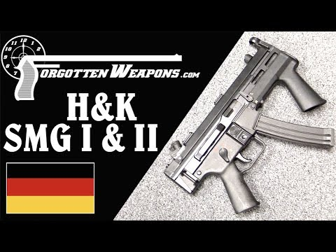 H&K's Experimental SMG and SMG II for the US Navy