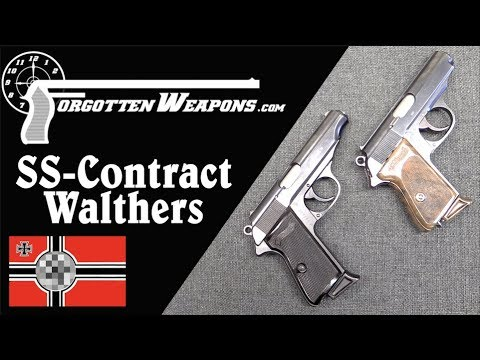 SS-Contract Walther PP and PPK Pistols