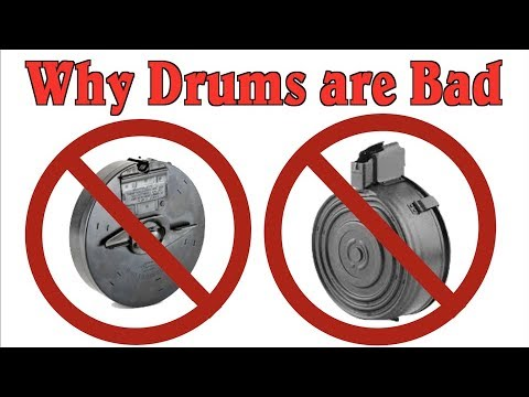 Why Drum Magazines are a Bad Idea