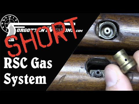 Short: Inspecting an RSC 1917 Gas System