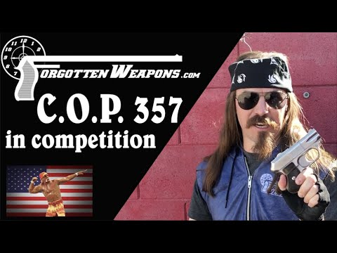 The Most 80s Gun Ever: COP 357 at the Backup Gun Match