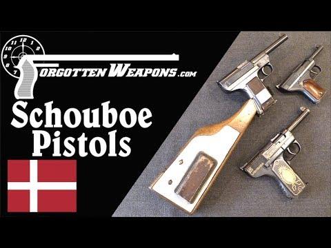 Overview of Danish Schouboe .45 & .32 Caliber Pistols