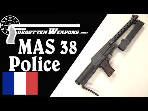 Post-War Paris Police MAS 38 Variation
