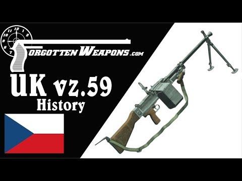 UK vz.59 Czech Universal Machine Gun: History and Mechanics