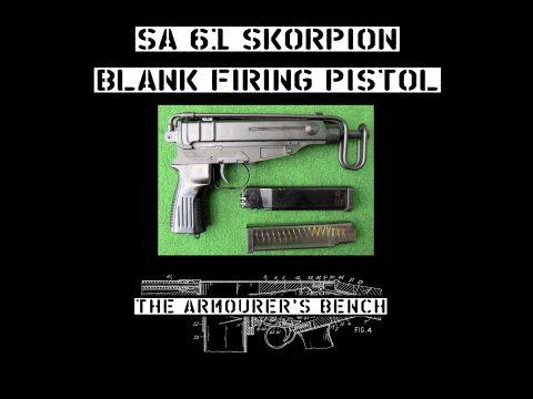 TAB Episode 63: SA vz61 Blank Firing Pistol