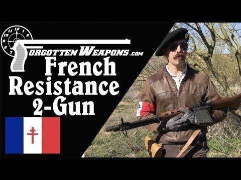 French Resistance 2-Gun: FG-42 & Mle 1935A (Prep for Desert Brutality)