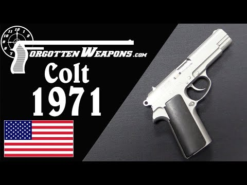 Colt Tries To Make a Service Pistol: The Model 1971