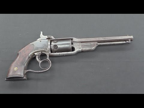 Savage Navy Revolver: Almost Double Action!