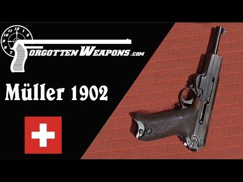 Müller 1902 Prototype Pistol