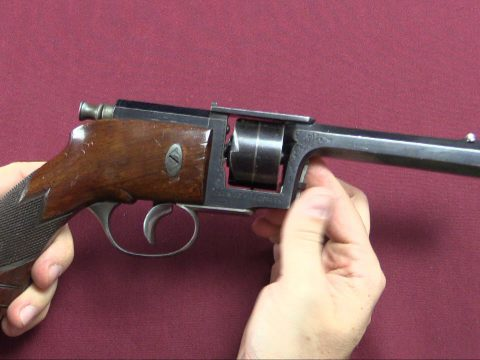 Dreyse/Kufahl Needlefire Revolver