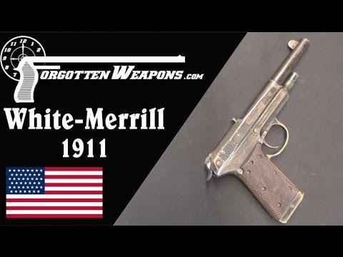 White-Merrill Experimental Model 1911 Pistol