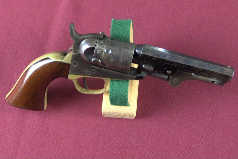 Thuer Conversion Colt 1849 Revolver