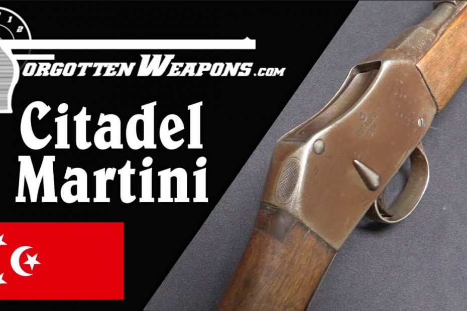 Citadel Martini – British Guns Rebuilt in Cairo