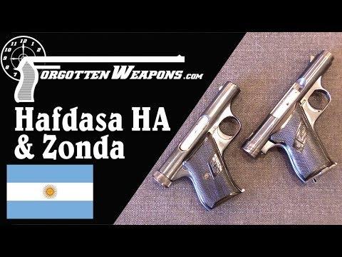 Argentina's Open-Bolt Pocket .22s: the Hafdasa HA and the Zonda