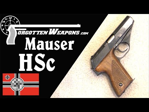 Evolution of the Military Mauser HSc Pistol