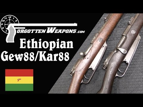 Rifles of Emperor Menelik II: Ethiopian Gewehr 88 and Karabiner 88