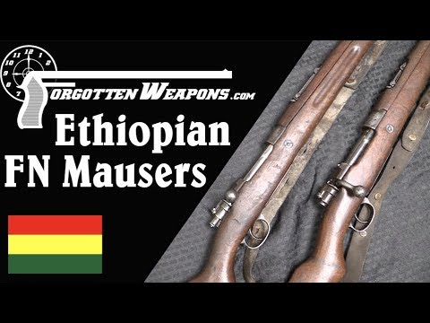 Arming the Lion of Judah: Ethiopian FN Mauser Rifles & Carbines