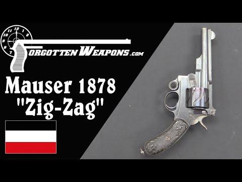"Mauser Model 1878 ""Zig-Zag"" Revolver"