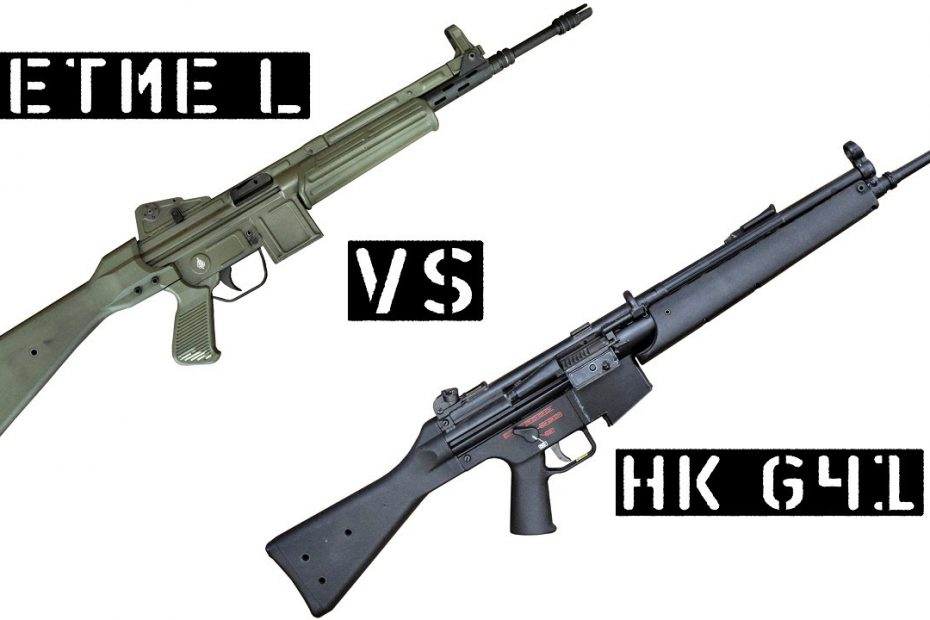 TAB Episode 65: CETME L VS. Heckler & Koch G41