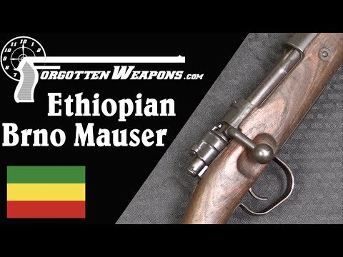 A Unique Partnership: Czech Mausers for Ethiopia after WWII