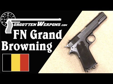 FN Grand Browning: The European 1911 that Never Happened