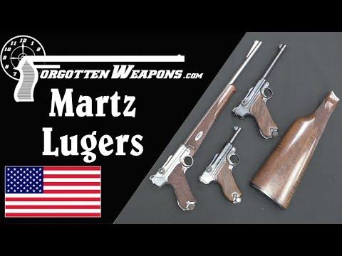 John Martz Custom Luger Pistols – Babies, Carbines, and .45 ACP Conversions